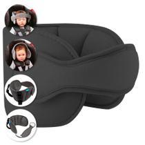 Apoio De Cabeça Para Assento De Carro Bebê Buba Cinza Escuro -