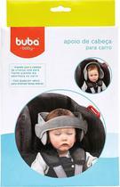 Apoio De Cabeça Para Cadeira De Carro Cinza - Buba - Buba Baby