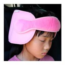 Apoio Encosto Cabeça Pescoço Bebe Criança Carro Viagem Rosa - Bxaw
