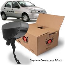 Apoio Encosto De Braco Descanso Cinza Suporte Curvo Nat Palio 2001 A 2005 Kit1640 -