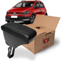Apoio Encosto De Braco Descanso Preto Nat Volkswagen Fox 2019 Em Diante Kit1569 -