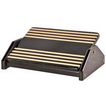 Apoio para os Pés Souza Ergonômico com Inclinação Black Piano - 3704 -