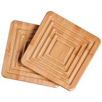 Apoio para Panela Bamboo 2 Peças - Mor
