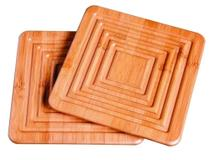 Apoio para panela bamboo 2 pecas - Mor