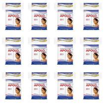 Apolo Algodão Quadrado Ziplock 100g (Kit C/12) -