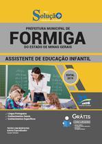 Apostila Formiga-MG 2019 - Ass Edu Infantil - Editora solução