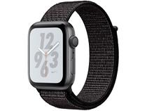 Apple Watch Nike+ Series 4 44mm  GPS Integrado - Wi-Fi Pulseira Esportiva 16GB Caixa Alumínio