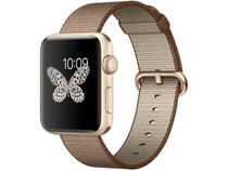 Apple Watch Series 2 42mm Alumínio 8GB Esportiva - Café e Caramelo GPS Integrado Resistente a Água
