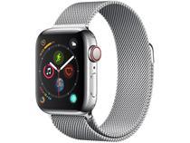 Apple Watch Series 4 40mm GPS + Cellular Wi-Fi - Bluetooth Pulseira Aço Inoxidável 16GB
