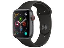 Apple Watch Series 4 44mm Cellular GPS Integrado - Wi-Fi Bluetooth Pulseira Esportiva 16GB