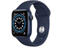 Apple Watch Series 6 40mm Azul GPS - Pulseira Esportiva Marinho-escuro