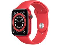 Apple Watch Series 6 44mm (PRODUCT)RED GPS - Pulseira Esportiva (PRODUCT)RED