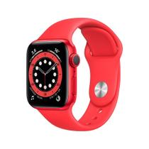 Apple Watch Series 6 (GPS) 40mm caixa (PRODUCT)RED alumínio pulseira esportiva (PRODUCT)RED -