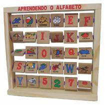 Aprendendo o alfabeto - Exclusiva