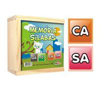 Aprendendo Sílabas com Memória Sílabas CiaBrink -