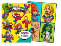 Aprender Brincando Marvel - Super Hero - Bicho Esperto -