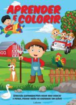 Aprender e colorir - Lafonte