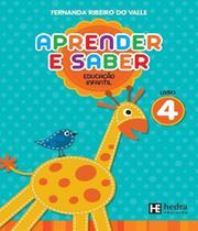 Aprender E Saber - Educacao Infantil - Vol 04 - Hedra educacao