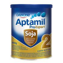 Aptamil Soja 2  Fórmula Infantil à Base de Soja a Partir de 6 Meses 800g -