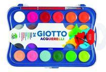 Aquarela Escolar Giotto 24 Cores -