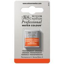 Aquarela Pastilha Profissional Winsor 650 Transparent Orange - Winsor  Newton