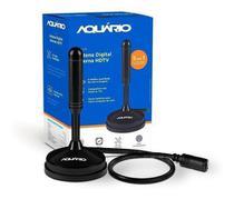 Aquario DTV-100 Antena Digital Interna HDTV Cabo com Conector F Macho - Preto - 9K Shop Eletronico