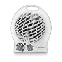 Aquecedor elétrico 2 em 1 aquece e ventila 1500W Branco Multilaser - HO025 -127V -