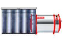 Aquecedor Solar 200 L Inox 304 baixa pressão nível + 1 Coletor a vácuo 30 tubos Komeco -