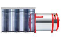 Aquecedor Solar 500 L Inox 304 baixa pressão desnível + 1 Coletor a vácuo 30 tubos Komeco -