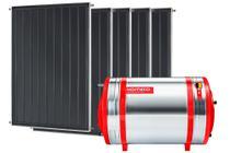 Aquecedor Solar 500 L Inox 316 alta pressão nível + 5 Coletores de 1m² MX Komeco -