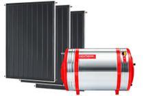 Aquecedor Solar 600 L Inox 316 alta pressão desnível + 3 Coletores de 2m² AB Komeco -