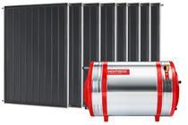 Aquecedor Solar 800 L Inox 304 alta pressão nível + 8 Coletores de 1m² MX Komeco -