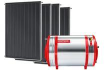 Aquecedor Solar 800 L Inox 316 alta pressão nível + 4 Coletores de 2m² AB Komeco -