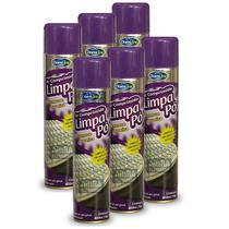 Ar Comprimido Spray Domline Limpa Pó Remove Poeira 6 Latas - Baston