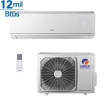 Ar Condicionado Gree Inverter Eco Garden Hi Wall 12000 Btus Quente e Frio Mono -