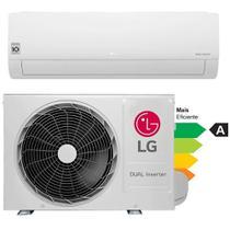 Ar condicionado Inverter LG  12.000 Btu/h Split Hi-Wall Dual Compact - Frio - S4-Q12JA3AD - 220V -