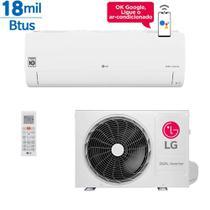 Ar Condicionado Inverter LG Dual Voice 18000 Btus Quente e Frio 220v -