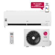 Ar-Condicionado LG Dual Inverter Voice 9.000 BTUs 127V Frio -