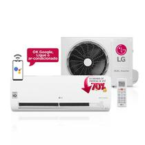 Ar Condicionado LG Split Dual Inverter, 12000 BUT's, Frio, Serpetina de Cobre, Gás Refrigerante R-410A, Modo Sleep de at