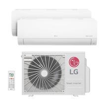 Ar Condicionado Multi Bi Split Inverter Lg 1x9000   1x18000 Btus Quente/frio 220V A3UW24GFA2.AWGZBRZ -