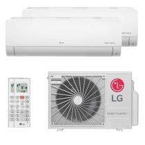 Ar Condicionado Multi Split Bi Split Inverter LG 18000 BTUs (1X9000+1X1200) Q/F 220V -