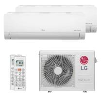 Ar Condicionado Multi Split Bi Split Inverter LG 24000 BTUs (1X12000+1X18000) Q/F 220V -