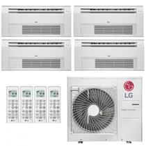 Ar Condicionado Multi Split Cassete Inverter LG 36000 BTUs 3x Evap 9000  1x Evap 12000 Quente Frio AMNW12GSJR0  220V -