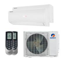 Ar Condicionado Multi Split Inverter Bi Split Gree 18000 BTUs (1x9000+1x12000) Quente e Frio 220V GWHD18ND3GO -