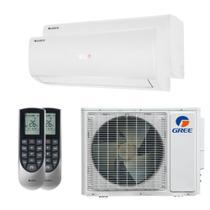 Ar Condicionado Multi Split Inverter Bi Split Gree 18000 BTUs (2x 9000) Quente e Frio 220V MonofásicoGWHD18ND3GO -