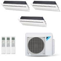 Ar-Condicionado Multi Split Inverter Daikin 28.000 BTUs 220V Quente/Frio (2x Evap K7 1 Via 12.000 + 1x Evap K7 1 Via 18.000) -