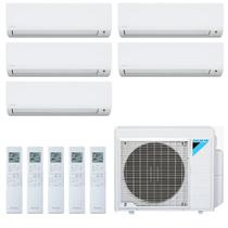 Ar Condicionado Multi Split Inverter Daikin 38000 BTUs 5x Evap 9000 Quente Frio 5MXS38PMVM  220V -