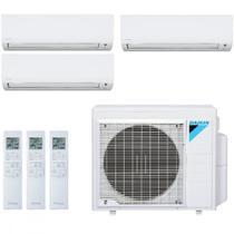 Ar Condicionado Multi Split Inverter Daikin Advance 24000 BTUs 3x 9000 BTUs Quente Frio S3MXS2409P   220V -