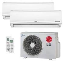 Ar Condicionado Multi Split Inverter LG 18.000 Btus (1x Evap 9.000 + 1x Evap 12.000) Quente e Frio 220v -
