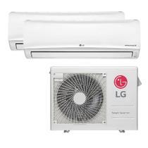 Ar Condicionado Multi Split Inverter LG 18.000 Btus (2x Evap 12.000 ) Quente e Frio 220v -